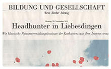 NZZ Feuilleton - November 2011