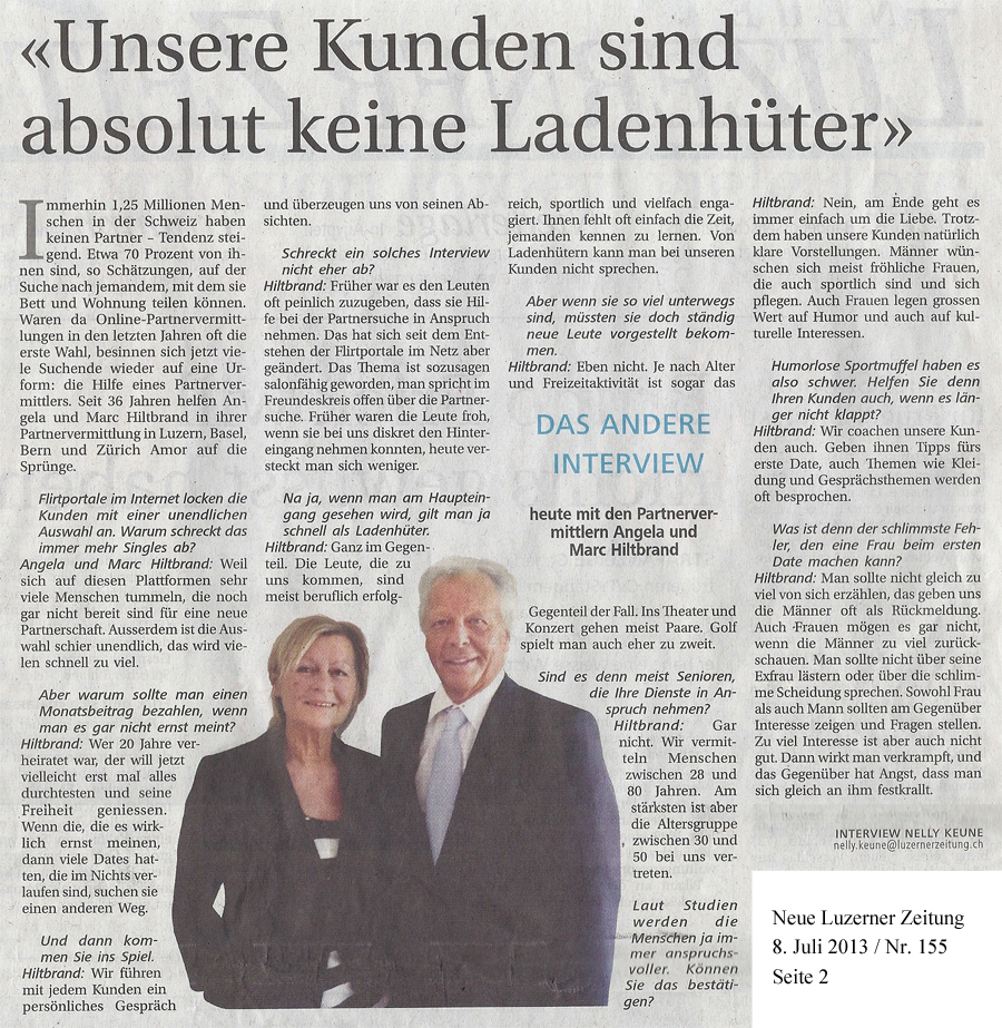 Hiltbrand consulting partnervermittlung